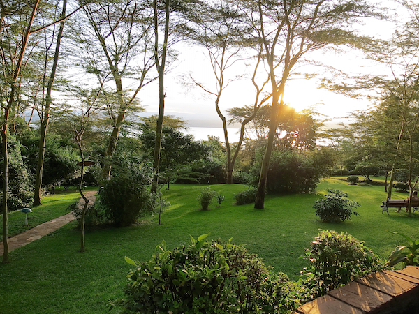 Lodge im Lake Nakuru-Nationalpark