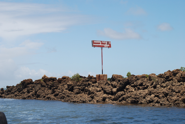 Ein Wegweiser durch die Riffs.