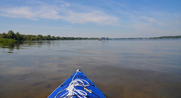 Der Plauer See.