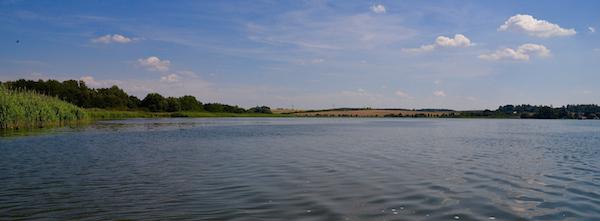 Das Ziel unserer heutigen Fahrt: der Große Wusterwitzer See.