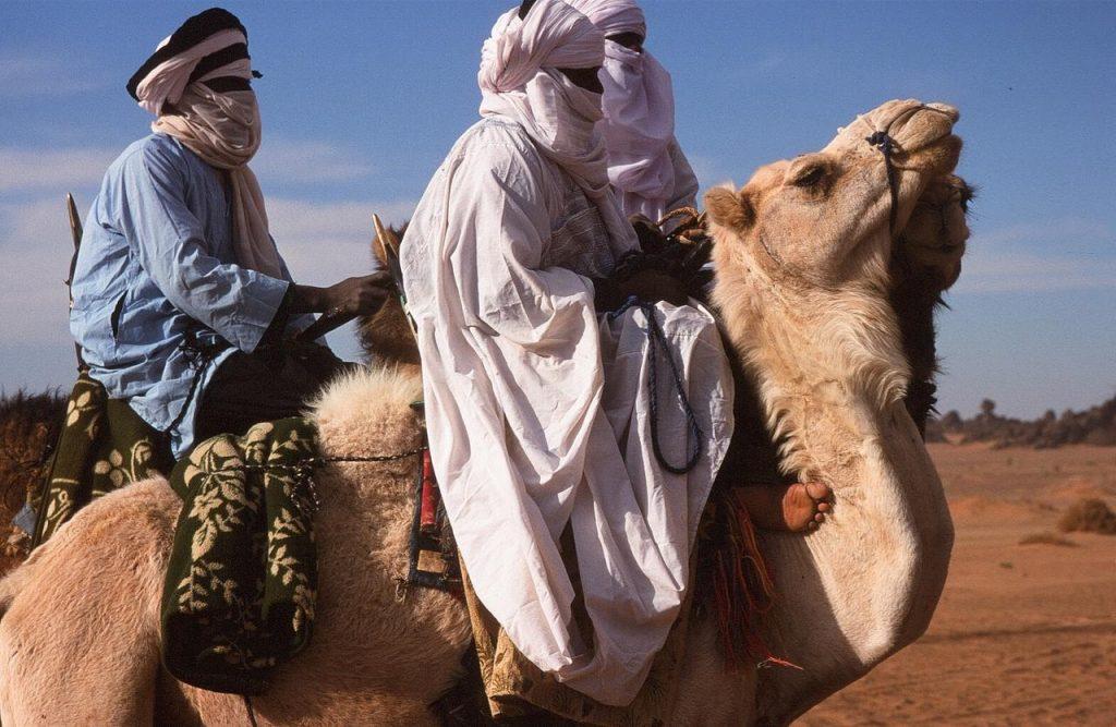 Mit Tuaregs unterwegs. Diese hier sind allerdings aus Libyen.